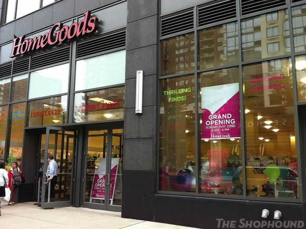 OFF PRICE ALERT: Home Goods Stocks Its Shelves For A Sunday Morning Opening  (The Shophound)