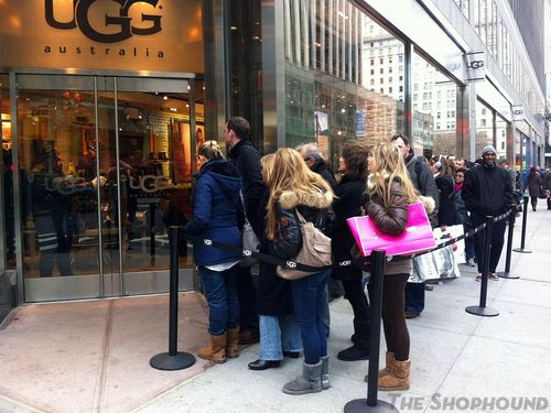 shopping uggs new york