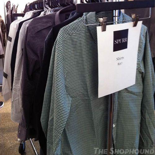 Thom browne sample sale 2012.