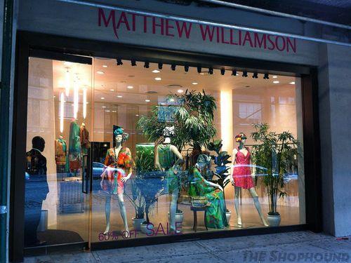 MatthewWilliamsonCloses