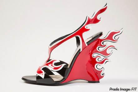 PradaFlameShoe