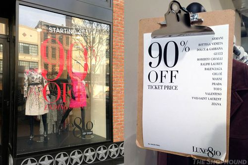 e186549e6 It's getting closer to the end of March, and that means that DSW's deeply  discounted designer apparel pop-up shop, Luxe810 will be closing soon.
