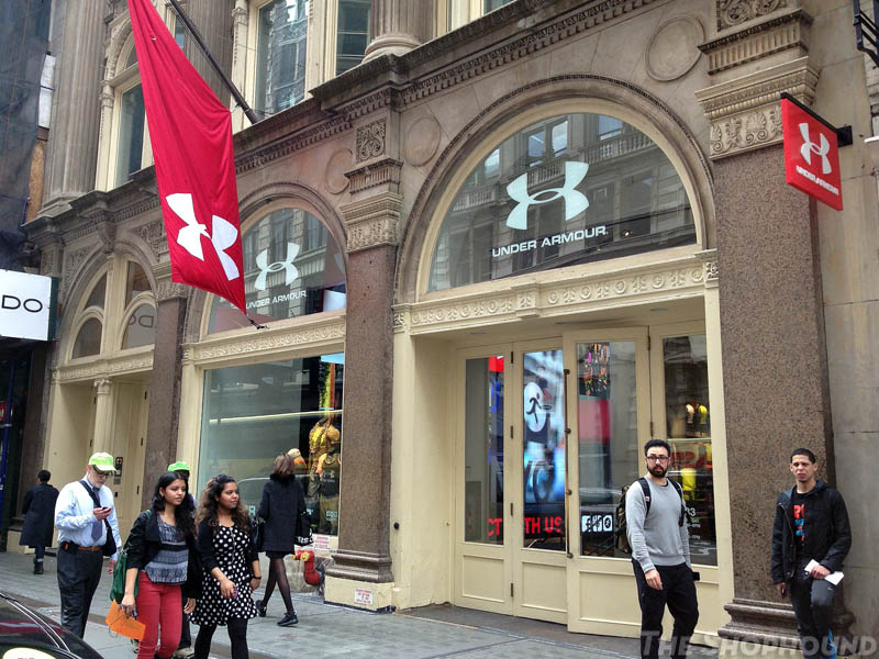 Desacuerdo Mártir ponerse nervioso  ALL JUICED UP: Under Armour's Brand House Has The Muscliest Mannequins In  The City (The Shophound)