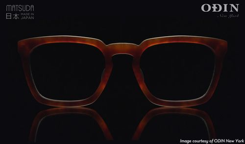 Matsuda x Odin New York MXO-002 in Matte Chestnut Brown, $385