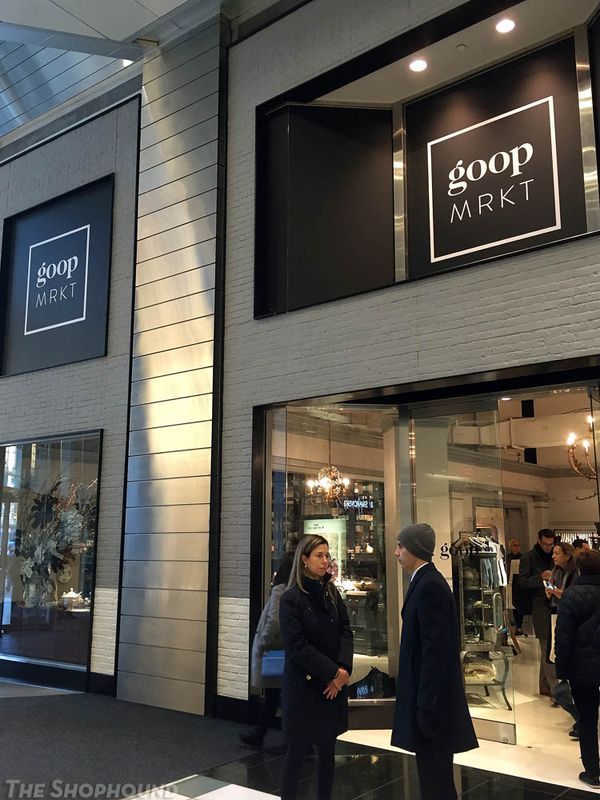 Gwyneth Paltrow's Goop pop-up shop in NYC robbed